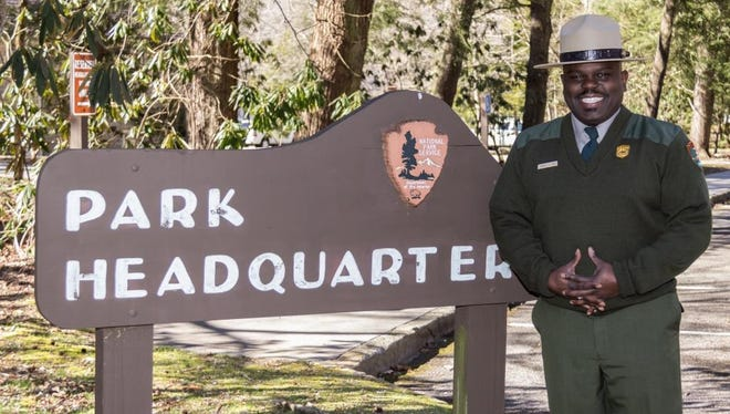 Great Smoky Mountains National Park Superintendent Cassius Cash.