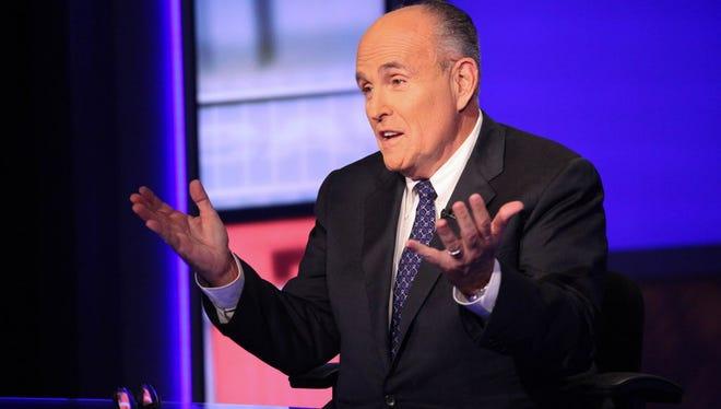 Former New York mayor Rudy Giuliani in September.