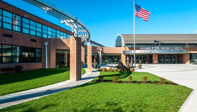 Hamilton High School in Butler County.
