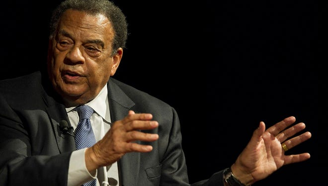 Andrew Young, former Atlanta mayor and United Nations ambassador.