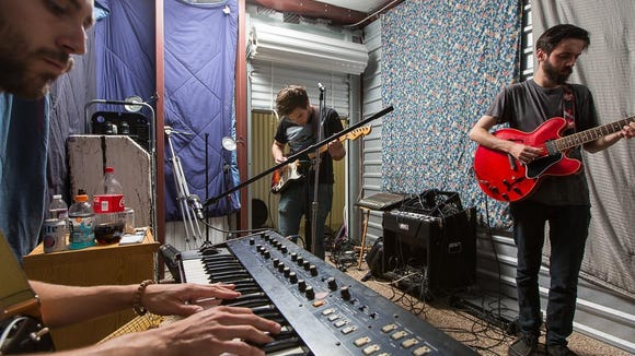 Sam Nobles, Andrew Fusca and Jeff Marvel of Fiancé will perform at Firefly Music Festival next month. Both Nobles and Fusca performed at the festival last year with Newark act Mean Lady.