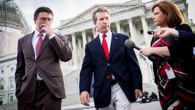 Sen. Rand Paul on Sunday.