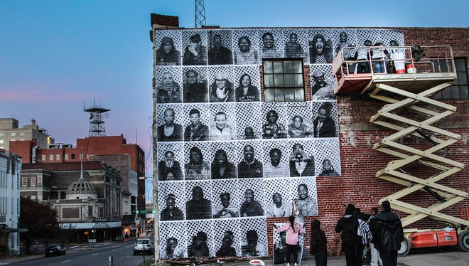 On Thursday, June 11, SRAC will revive the faces in an instillation on the interior of the Central ARTSTATION Engine Room to pair with the Stories of Inclusion/Exclusion storytelling event.