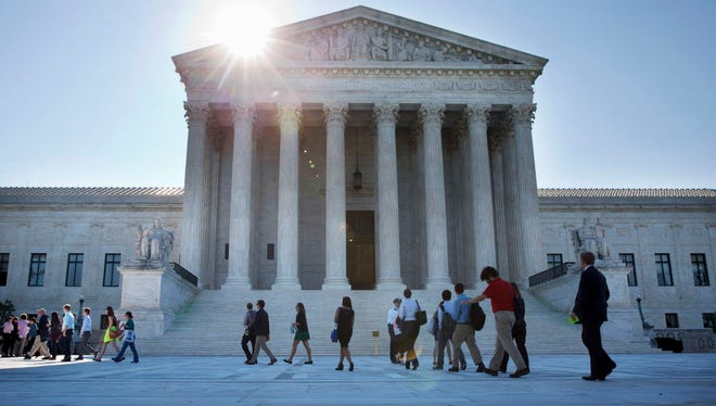 The Supreme Court on June 29, 2015.
