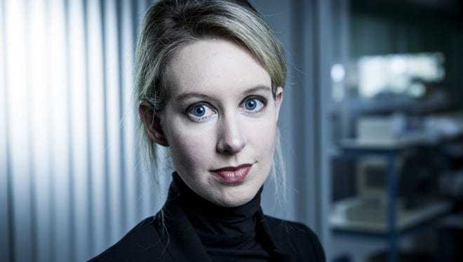 Elizabeth Holmes, founder and CEO of Theranos, which just announced it would expand its blood testing services to central Pennsylvania.