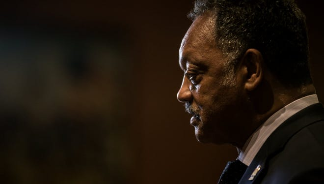 Jesse Jackson turns up the heat on Silicon Valley tech companies to hire more African Americans and Latinos.
