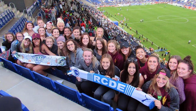 ASU soccer, which traveled to Spain in May, is picked to finish fifth in the Pac-12.