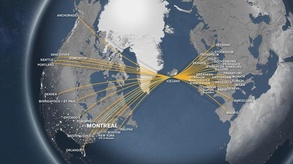 Icelandair makes Montreal its newest destination on biman route map, tacv route map, jetblue route map, flying tiger line route map, south african airways route map, lot polish route map, volaris route map, airline route map, union pacific railroad route map, casino express route map, jfk airtrain route map, xtra airways route map, tame route map, xl airways route map, florida route map, republic airways holdings route map, new jersey transit route map, delta airlines 757 seat map,