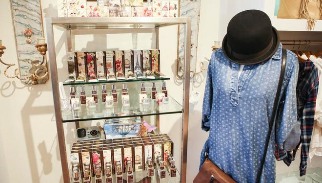 Products and outfits at Liv Boutique in St. Matthews. Aug. 26, 2015
