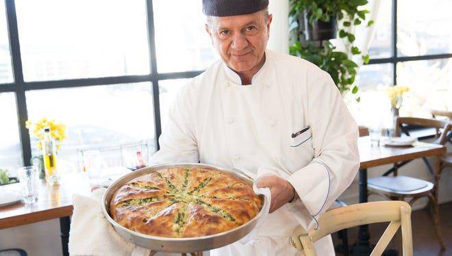 Giorgios Nikolas Bakatsias will open a restaurant in the former Grovewood Cafe space in November.