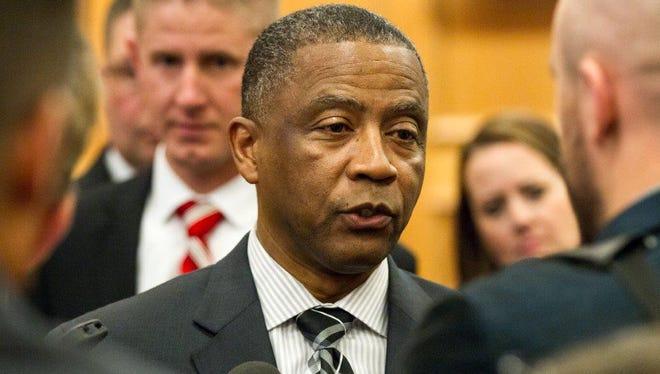 State Correction Commissioner Derrick Schofield