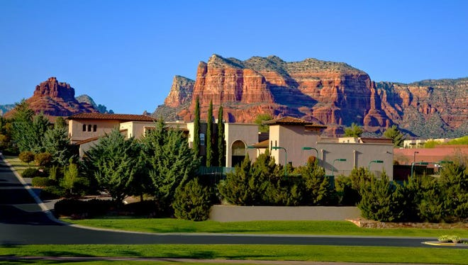 The Hilton Sedona Resort at Bell Rock has plenty of room for families to relax.