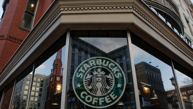 An exterior view of a Starbucks on Dec. 27, 2012, in the Chinatown neighborhood of Washington, D.C.