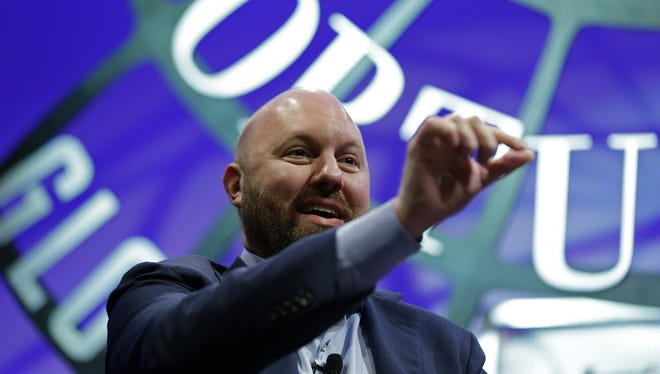 Marc Andreessen at the Fortune Global Forum earlier this month.