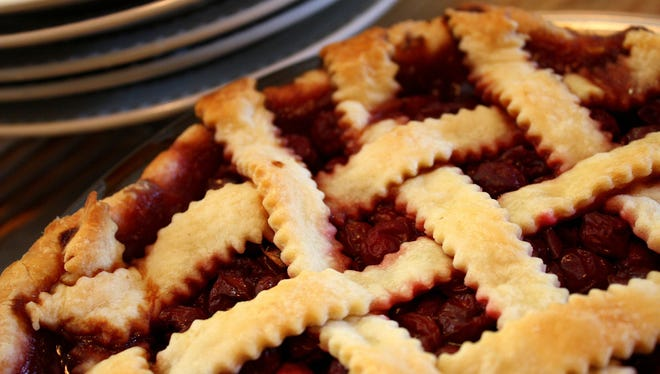 Find pies to go at both Buxton Hall and Short Street Cakes this year.