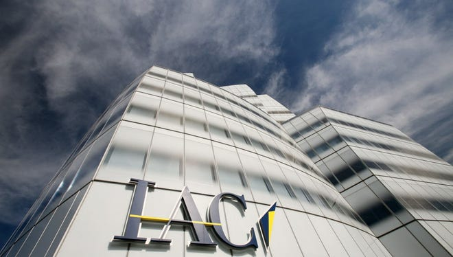 This Oct. 26, 2009, file photo, shows the IAC building in New York.