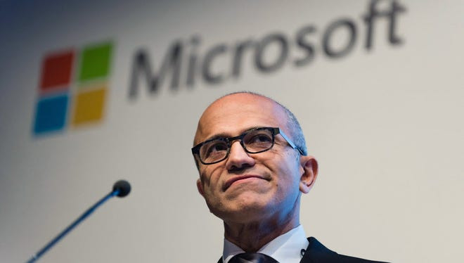 Microsoft CEO Satya Nadella is pushing to change the makeup of its largely white, male workforce, though the task is proving slow-going.