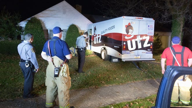 The Hanover Borough Police Department is investigating the theft of a 1994 Utz van that happened Nov. 27 around 10 p.m. The driver crashed the van in front of a residence and fled the scene.