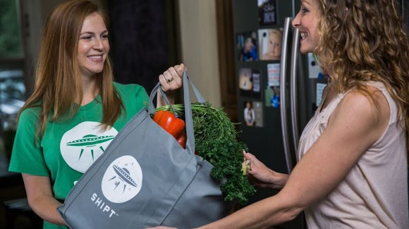 Shipt allows customers to get groceries using a simple phone app.