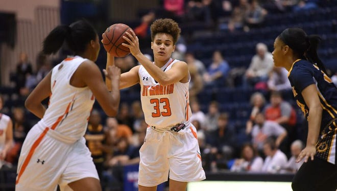 UTM freshman Myah Taylor scored nearly 2,000 points at Dyersburg High School.