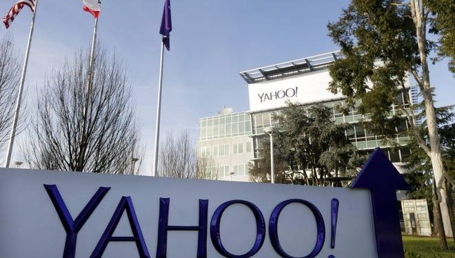 Yahoo headquarters in Sunnyvale, Calif.
