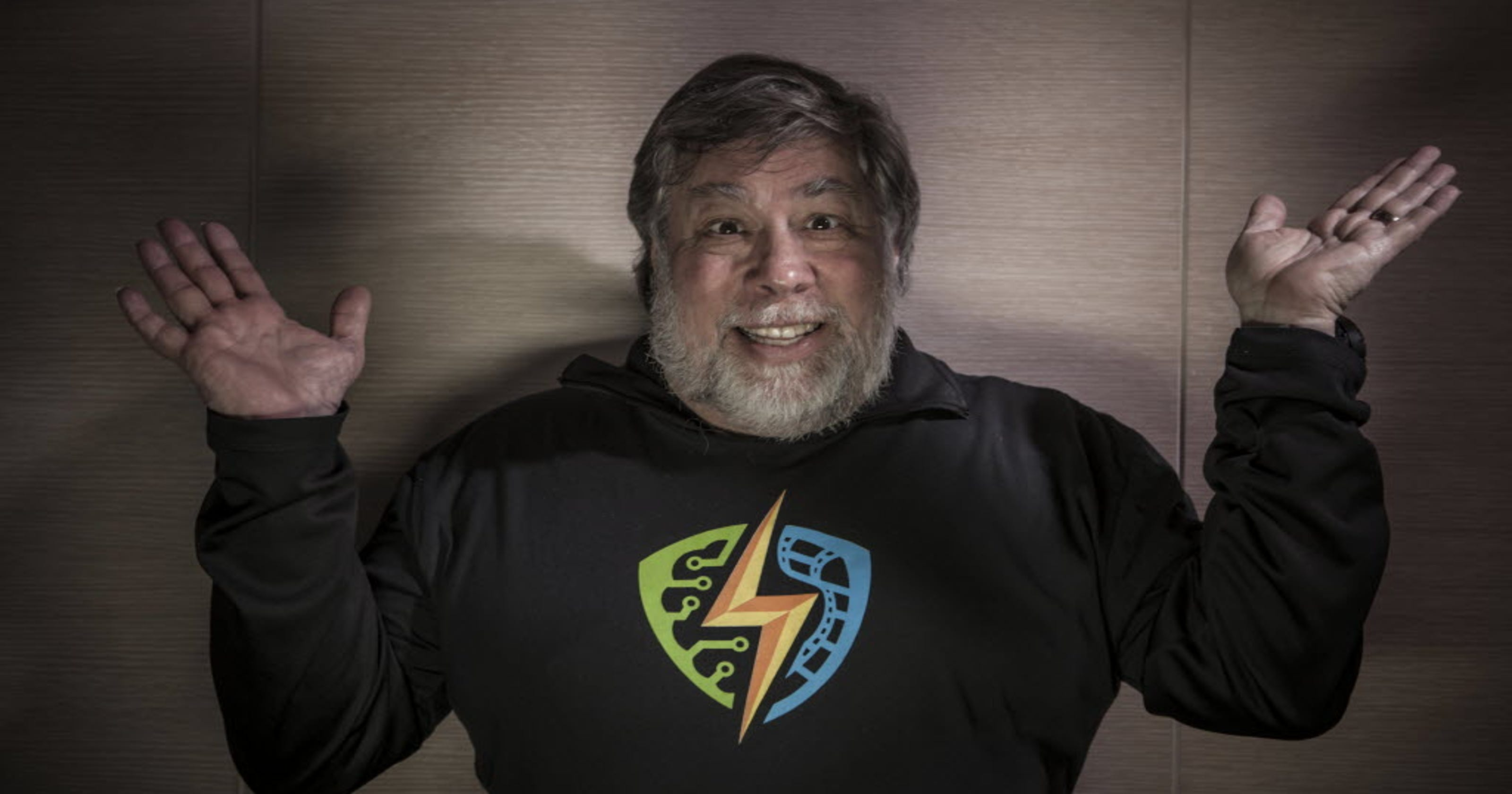 Apple co-founder Steve Wozniak's Comic Con pitch