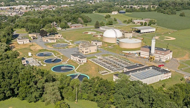 Gannett Fleming of Camp Hill has earned a National Recognition Award for exemplary engineering achievement in the American Council of Engineering Companies' 49th annual Engineering Excellence Awards for the City of Lebanon Authority's wastewater treatment plant. The plant, pictured here, is in North Cornwall Township.