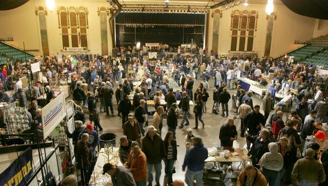 The Asbury Park Fishing Club's Fishing Flea Market returns to Convention Hall on March 13.