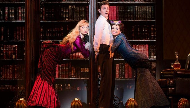 """""""A Gentleman's Guide to Love and Murder"""" launches the 2016-17 Broadway in Detroit subscription series  in October. The show won four Tonys, including best musical, in 2014."""