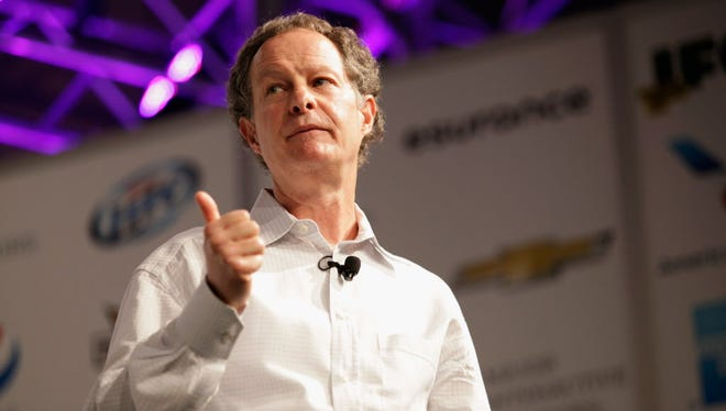 Co-CEO of Whole Foods Market John Mackey speaks onstage at Conscious Capitalism: Liberating The Heroic Spirit Of Business during the 2013 SXSW Music, Film + Interactive Festival at Austin Convention Center on March 10, 2013 in Austin, Texas.