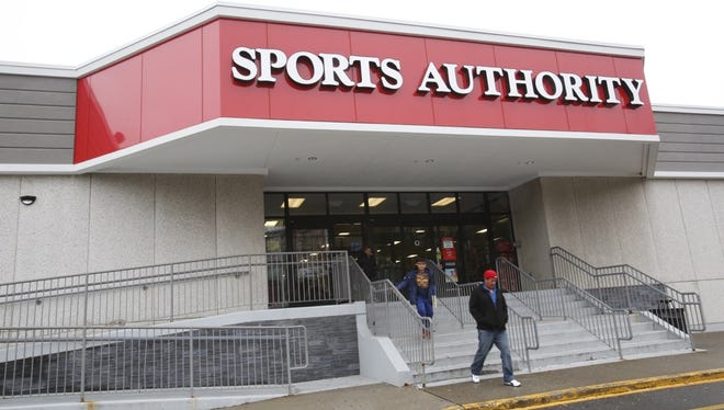 The Sports Authority in Elmsford.