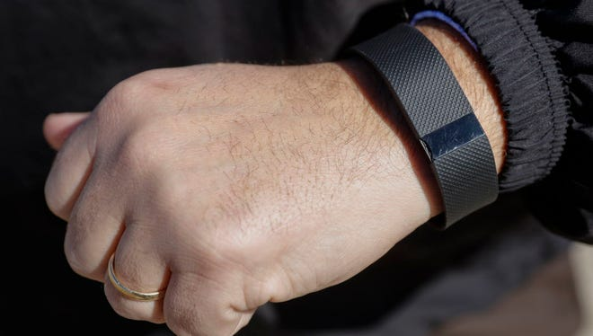 Fitbit tracks the users activity and provides data points such as distance traveled, calories burned and even how well the user slept.