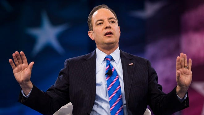 Chairman of the Republican National Committee Reince Priebus speaks at the 43rd Annual Conservative Political Action Conference (CPAC) at the Gaylord National Resort & Convention Center in National Harbor, Maryland March 4, 2016.
