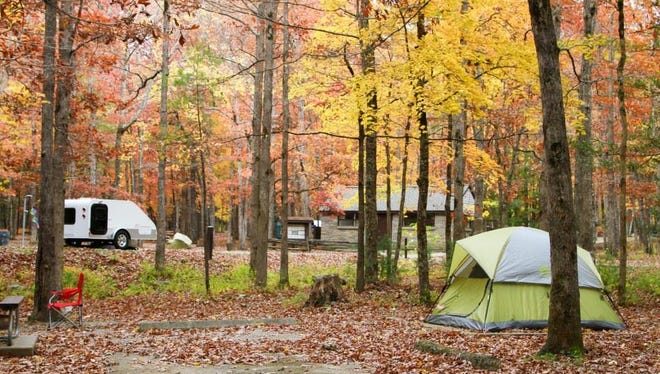 If you've never ventured into a camping experience with your kids, make this the summer that you give it a go. The Great Smoky Mountains National Park offers a variety of campsites.