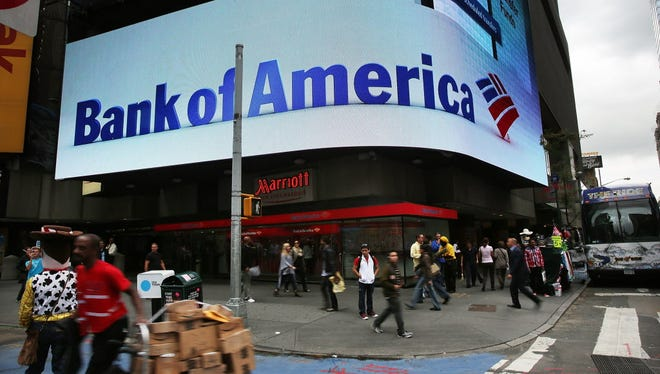 Bank of America building in New York City.