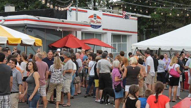 The Flemington Filling Station returns for its third season on Friday night on Main Street.