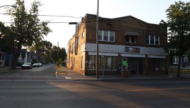 Man shot on North Clinton and Borchard Street.