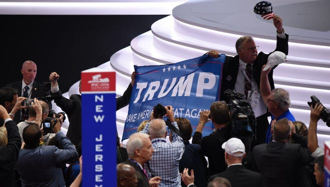 Republicans begin their national convention in Cleveland on July 18, 2016.