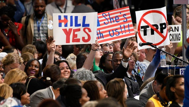 Democratic convention on July 27, 2016.