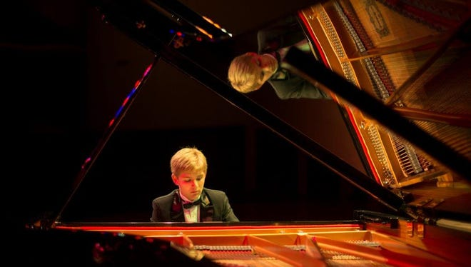 Teenage piano prodigy Noah Waddell will perform at the Davis Art Center on Friday Aug. 26