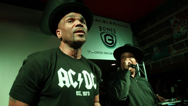 Legendary hip-hop act Run-DMC played a private party for about 150 people at the Red Dot in Wauwatosa Friday.