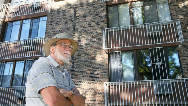 Hank Jacobi, who lives in an efficiency apartment on Milwaukee's east side, was among utility customers who saw a big increase in monthly bills when the fixed customer charge went up last year. Alliant Energy Corp. in Madison is proposing to more than double its fixed customer charge by 2018.