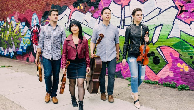 The Attacca Quartet is coming to Clarksville. The internationally renowned string quartet will be performing at APSU's annual Honor Orchestra Festival, and then, for the general public Friday evening.