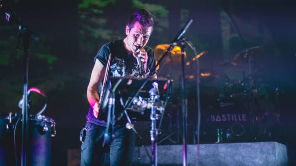 After opening for WLUM-FM (102.1)'s annual Big Snow Show at the Rave in 2013, Bastille will return to headline Dec. 8.