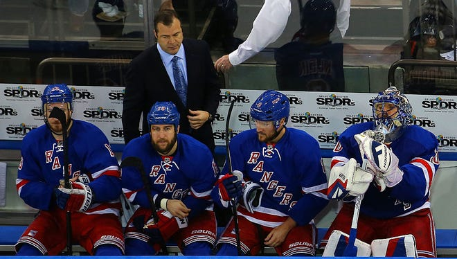 Coach Alain Vigneault thinks the Rangers need to have their priorities in order this season.