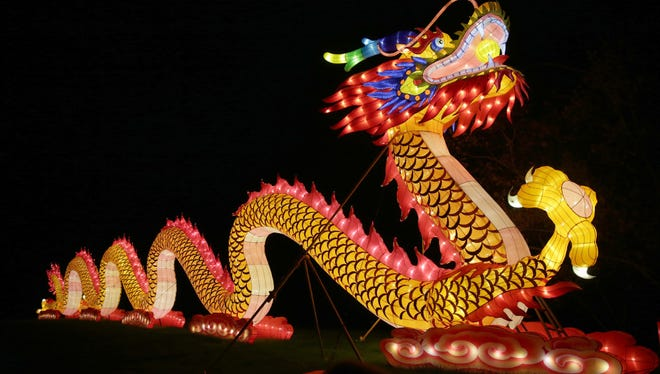"""China Lights"" is in its final weekend in Boerner Botanical Gardens in Hales Corners."