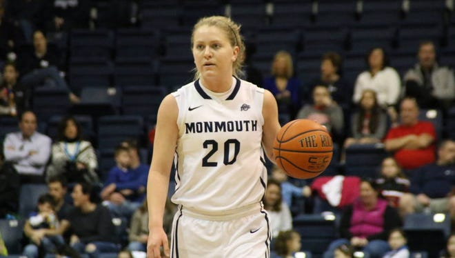 Monmouth women's basketball player McKinzee Barker is one of the returning players the Hawks are counting on this season.