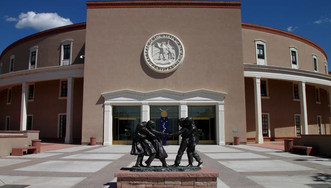 New Mexico State Capitol.