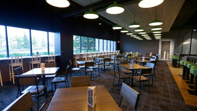 Kohl's new employee dining room at the corporate headquarters.