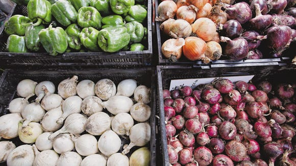Onions will likely be at the stands at various winter farmers markets.